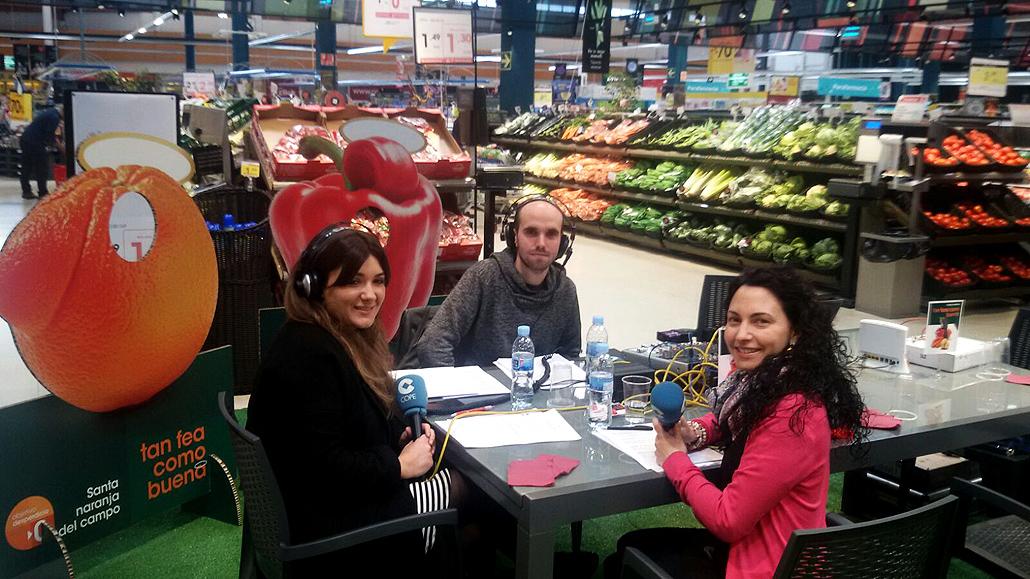 entrevista en cope - dietista pamplona