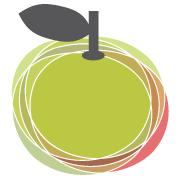 logo manzana verde
